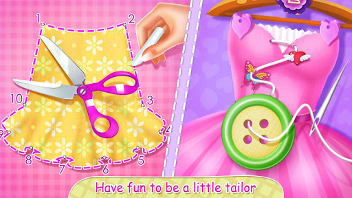 👸✂️Royal Tailor Shop 3 - Princess Clothing Shop screenshots 1