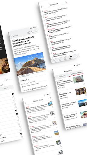 El Diario Vasco on+ Apk 7.0.0 screenshots 2