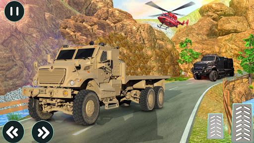 drive army truck check post: army transport games screenshot 3