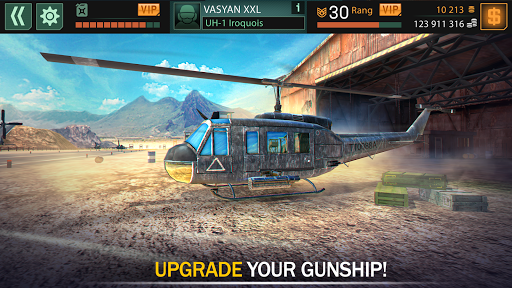 Gunship Force: Free Helicopter Games Attack 3D  screenshots 13