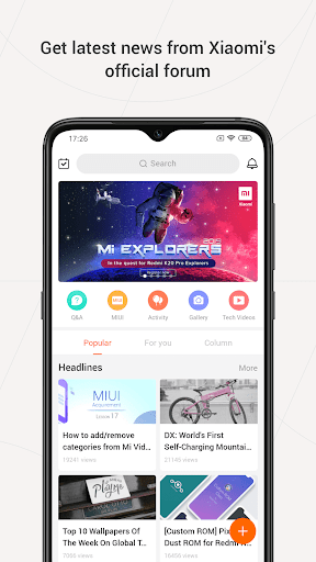 Mi Community - Xiaomi Forum 4.5.14 Screenshots 1