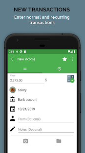 Fast Budget - Expense & Money Manager Screenshot
