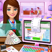 High School Cash Register: Cashier Games For Girls