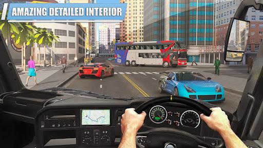 City Coach Bus Simulator 3D Apkfinish screenshots 5