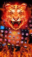 Cruel Tiger 3D Keyboard Theme