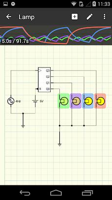 iCircuit Electronic Circuit Simulatorのおすすめ画像4