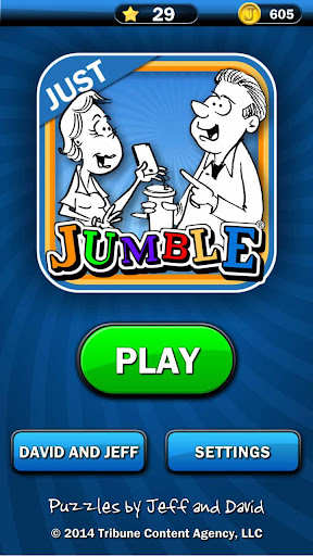 Just Jumble 6.00 screenshots 2