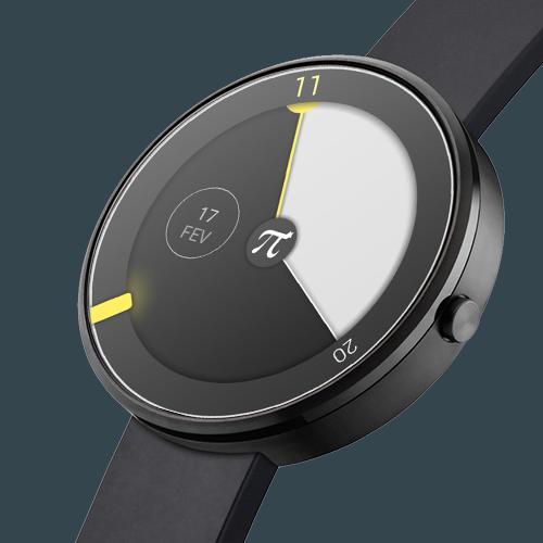 Material Pi Watch Face - π  screenshots 1