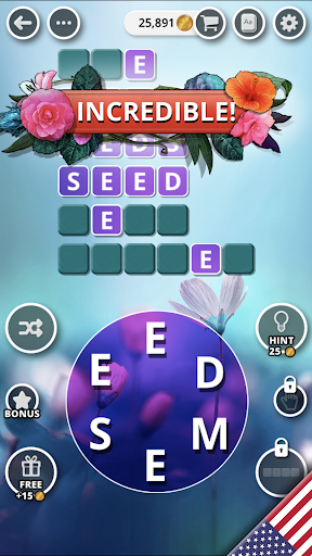 Bouquet of Words - Word game  Screenshots 16