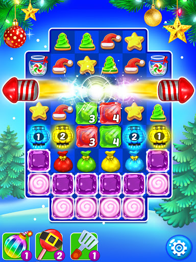 Christmas Cookie - Santa Claus's Match 3 Adventure 3.3.5 screenshots 10