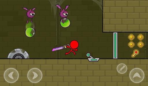 Red Stickman : Animation vs Stickman Fighting android2mod screenshots 21