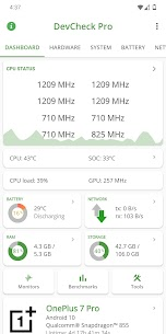 DevCheck Hardware and System Info (PRO) 3.32 Apk 1