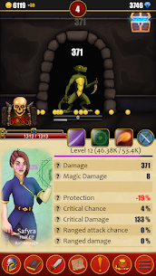Infinite Dungeons( Clicker / Idle  RPG ) 3