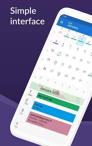DigiCal Calendar Agenda  Screenshots 1