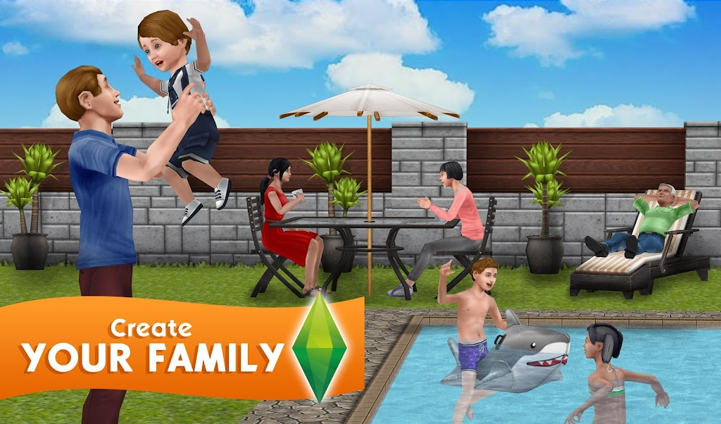 The Sims FreePlay poster 3