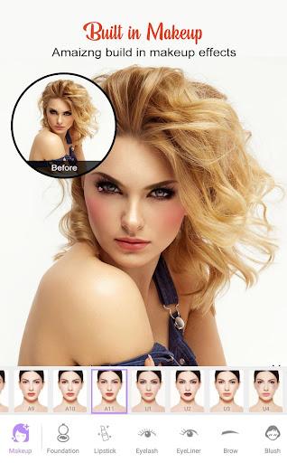 Perfect Sweet Makeup Camera-Virtual Makeover 1.0.0 Screenshots 5
