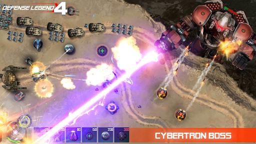Defense Legend 4: Sci-Fi Tower defense  screenshots 12