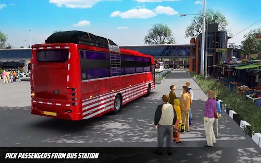 Bus Simulator: Hill Coach Driving Bus Sim androidhappy screenshots 1