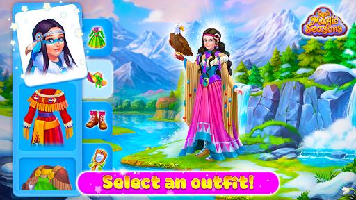 Magic Seasons - build and craft game 1.0.5 screenshots 5