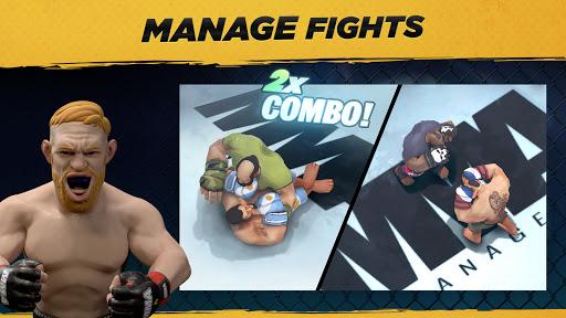 MMA Manager 2021  APK MOD (Astuce) screenshots 2