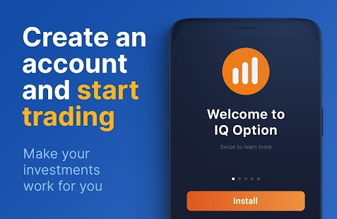 IQ Option – Online Investing Platform Screenshot