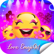 Love EmojiGif WAStickerApps For WhatsApp  Icon