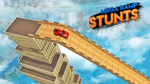 Mega Ramp Stunts u2013 New Car Racing Games 2021 screenshots 1