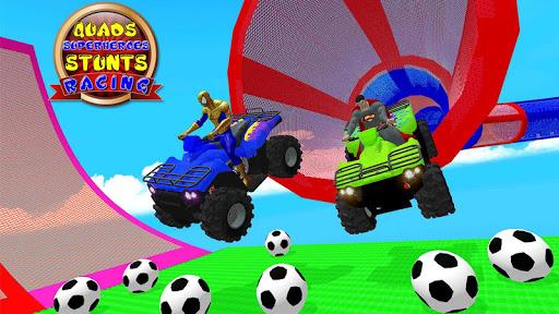 ATV Quads Superheroes Stunts Racing screenshots 5