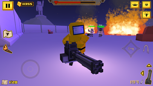 BLOCKAPOLYPSEu2122 - Zombie Shooter  screenshots 8