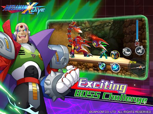 MEGA MAN X DiVE - MOBILE 5.3.1 screenshots 14