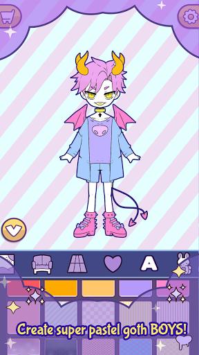 BatDoll Dress up chibi boy anime avatar maker game  screenshots 2