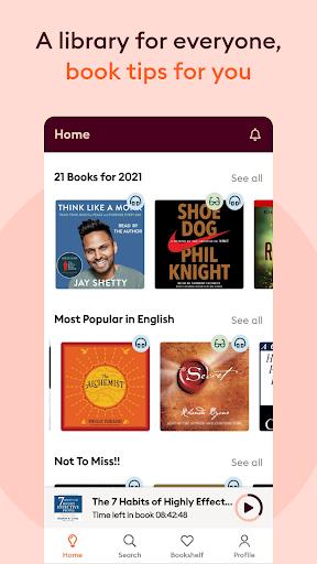 Storytel: Audiobooks & Ebooks  screenshots 1