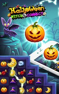 Halloween Witch Connect - Halloween games