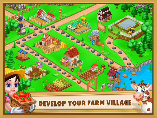 Farm House - Farming Games for Kids apkmr screenshots 19