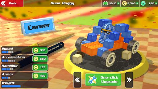 Pixel Car Racing - Voxel Destruction 1.1.2 screenshots 2