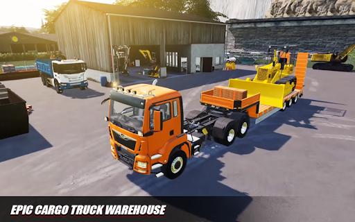 Euro Cargo Truck Simulation 3D Truck Driving Games 1.0 screenshots 1