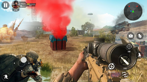 Modern Forces Free Fire Shooting New Games 2021 1.53 screenshots 1