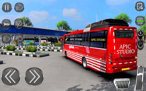 City Coach Bus Driving Sim : Bus Games 2020 0.2 Screenshots 13