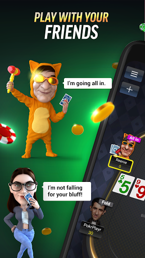 PokerBROS: Play Texas Holdem Online with Friends  Screenshots 1