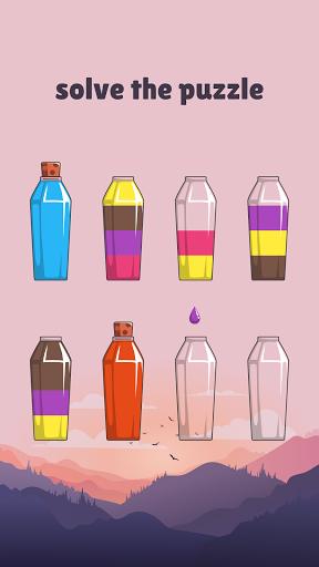 Cups - Water Sort Puzzle  screenshots 2