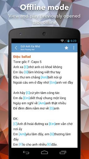 Hop Am Chuan - Guitar Tabs and Chords android2mod screenshots 2