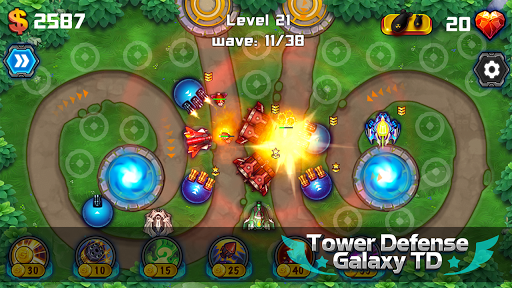 Tower Defense: Galaxy TD 1.3.2 screenshots 2