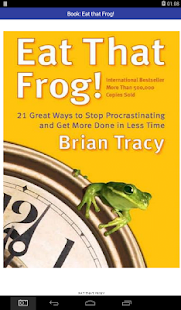 Eat That Frog!  Book to Get More Done in Less Time