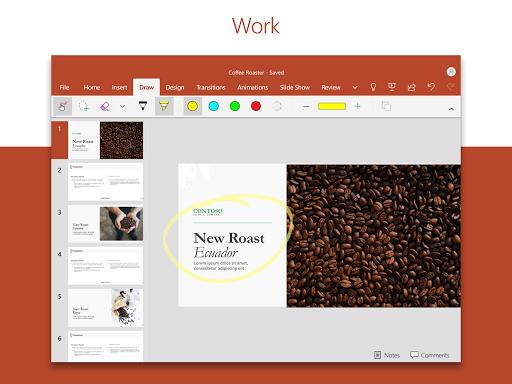 Microsoft PowerPoint: Slideshows and Presentations Apkfinish screenshots 8