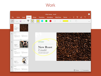 Microsoft PowerPoint: Slideshows and Presentations Screenshot