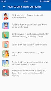 Drink water tracker & reminder