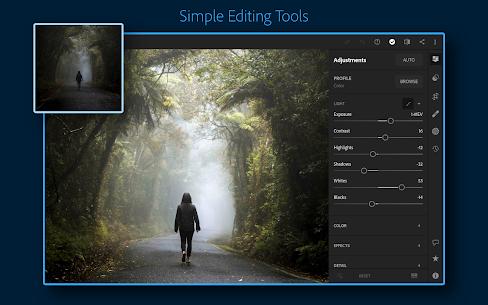 Adobe Lightroom MOD Apk (V6.2.1) Premium Unlocked (Cracked) Download Links 2021 9
