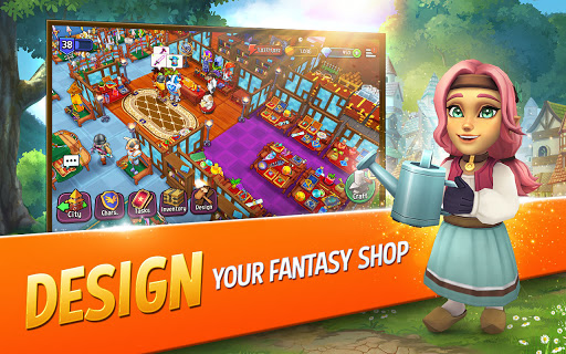 Shop Titans: Epic Idle Crafter, Build & Trade RPG 6.1.0 screenshots 4