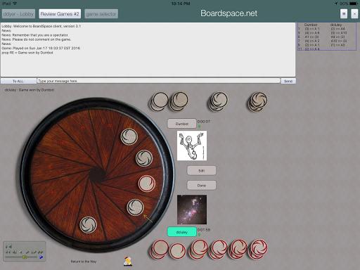 Boardspace.net 4.93 screenshots 11