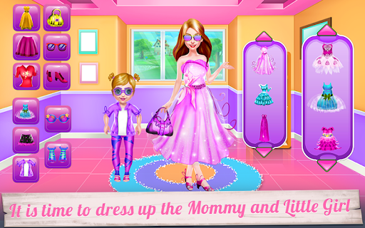 mommy and little baby laundry day screenshot 2